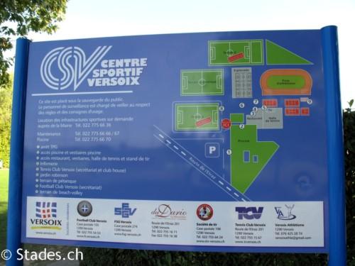 Les Infrastructures du Centre Sportif