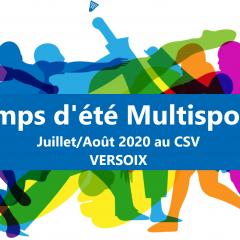 Les camps d'été c'est ici et maintenant : Camps d'été Multisports !