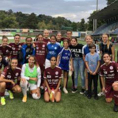 Nos FF-15 ramasseurs de balle du match FC Servette contre le FC Aarau